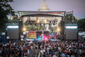 The 43rd annual Capital Pride Festival takes over Pennsylvania Avenue in front of the U.S. Capitol this Sunday with free performances by Alessia Cara, Troye Sivan, Max and others. (Photo: Denis Largeron Photographie)