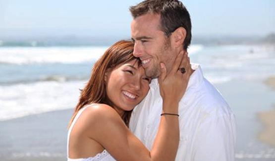Filipina woamn with white husband
