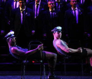 The Gay Men's Chorus of Washington salutes Broadway musicals in And the Tony Goes to... this weekend at the Lincoln Theatre. (Photo: Gay Men's Chorus of Washington)