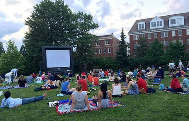 Films in the Field brings outdoor moviews to Kalorama's Mitchell Park this summer. (Photo: Friends of Mitchell Park)