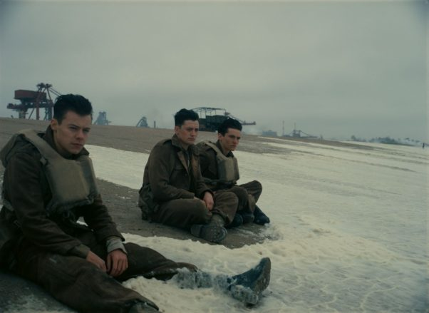 Director Christopher Nolan's <em>Dunkirk</em> finished in first place last weekend with $50.51 million. (Photo: Warner Bros. Pictures)