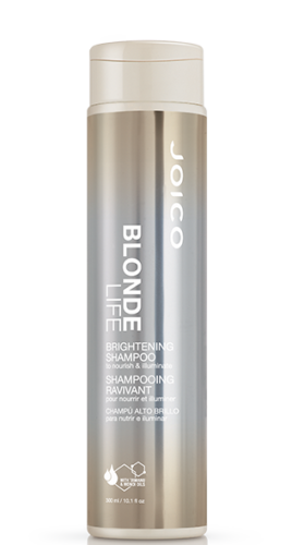 Blonde Life Brightening Shampoo keeps your blonde hair evenly toned with no brassiness. (Photo: Jaico)