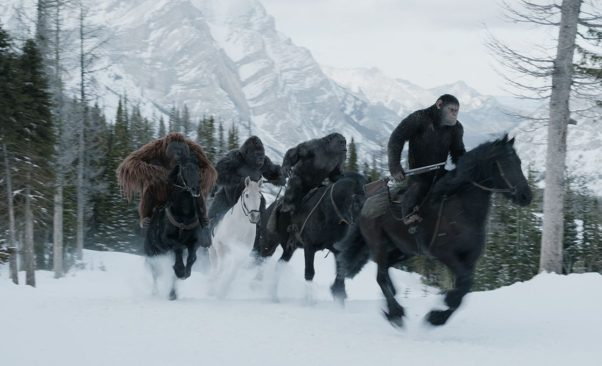 <em>War for the Plaent of the Apes</em> finished in first place last weekend with $56.26 million. (Photo: 20th Century Fox)