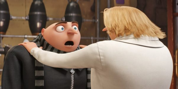 Despicable Me 3 finished in first place over the weekend with $72.41 million. (Photo: Universal Pictures)