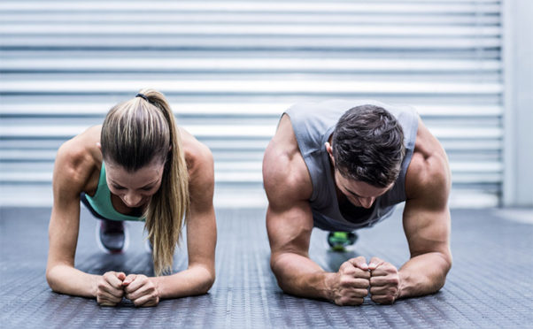 Working out with your partner can bring balance into both your lives and relationship overall. (Photo: Shutterstock)