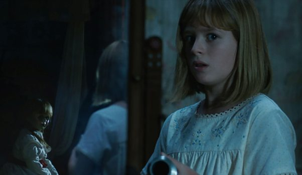 """""""Annabelle: Creation"""" opened in first place last weekend with $35.01 million, but was the lowest of the four movies in the """"Conjuring/Annabelle"""" series. (Photo: Warner Bros. Pictures)"""