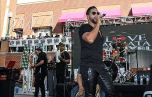 A singer peforms at last year's I Love Bachata Festival in Silver Spring. (Photo: I Love Bachata Festival)