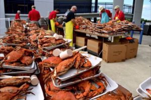 The Annapolis Rotary Club again sponsors the world's largest crab feast from 5-8 p.m. on Friday. (Photo: Don Roland)
