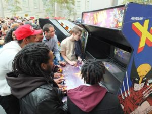 The Smithsonian American Art Museum becomes a free video arcade this weekend. (Photo: Bruce Guthrie)