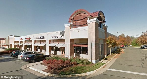 More than 135 people got norovirus after eating at this Chipolte in Sterling, Va., in mid-July. (Photo: Google Maps)