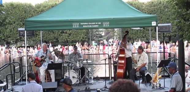 The National Gallery of Art's Jazz in the Garden wraps up this month. (Photo: fillipich/YouTube)