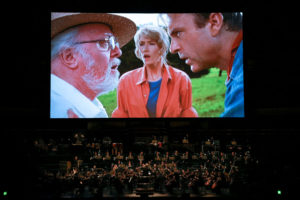 <em>Jurassic Park in Concert</em> comes to Wolf Trap on Saturday accompanied by the National Symphony Orchestra.  (Photo: London Evening Standard)