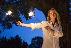Mary Chapin Carpenter performs at Wolf Trap on Saturday night with Lucinda Williams. (Photo: Mary Chapin Carpenter)