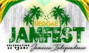 Reggae Jamfest celebrates 55 years of Jamaica's independence on Sunday. (Image: Reggae Jamfest)