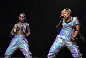 TLC's T-Boz and Chilli returns with other 90s bands to Wolf Trap on Saturday. (Photo by Paras Griffin/Getty Images)