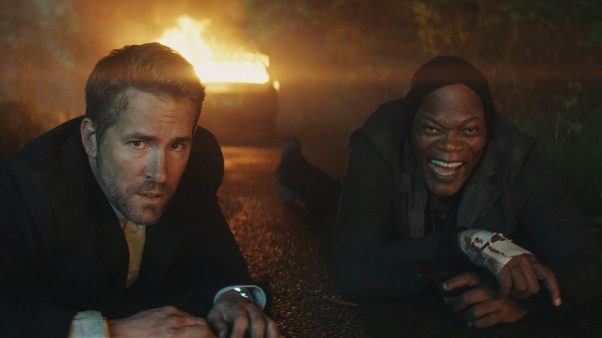"""The Hitman's Bodyguard"" lead the holiday box office for the third weekend with $13.27 million. (Photo: Lionsgate)"
