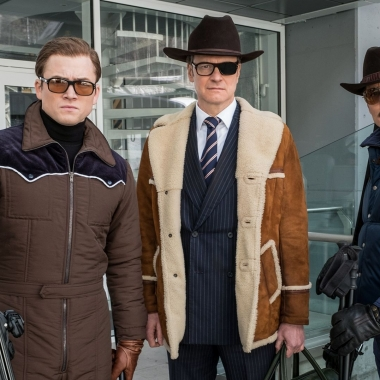 Kingsmen: The Golden Circle was number 1 at the box office last weekend with $39.02 million. (Photo; Warner Bros. Pictures)