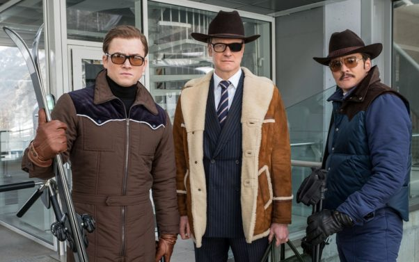 <em>Kingsmen: The Golden Circle</em> was number 1 at the box office last weekend with $39.02 million. (Photo: Warner Bros. Pictures)