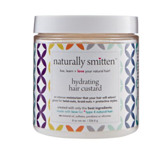 Naturally Smitten's Hydrating Hair Custard moisturizes your curly hair and smells yummy. (Photo: Naturally Smitten)