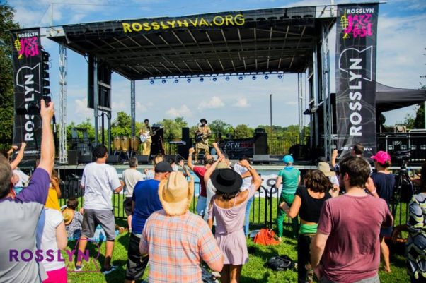 The Rosslyn Jazz Festival is back on Saturday with five band performng from 1-7 p.m. (Photo: Rosslyn BID)