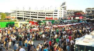 Truckeroo brings 13 food truck to The Bullpen outside Nationals Park from 4-11 p.m. on Friday. (Photo: Truckeroo)