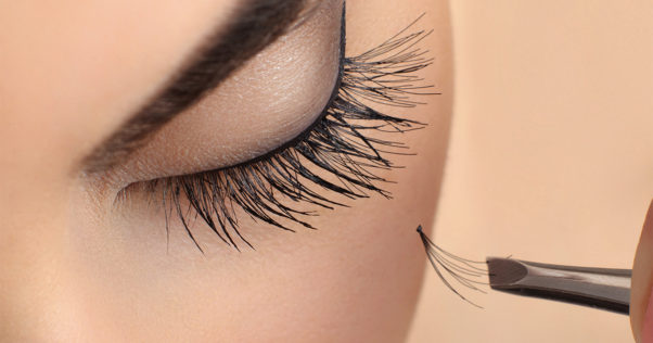 Eyelash extensions take 2-3 hours to apply. (Photo: All About Vision)