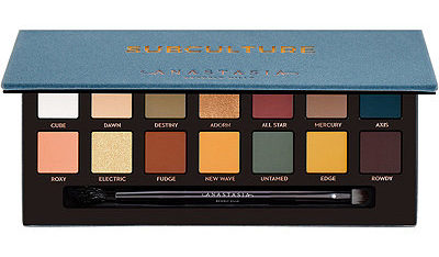 The shades in Anastasia Beverly Hills' Subculture Eyeshadow Palette will remind you of fall. (Photo: Anastasia Beverly Hills)