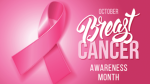 October is Breast Cancer Awareness Month. One in eight women in the U.S. will be diagnosed with breast cancer in her lifetime. (Image: KCHA)