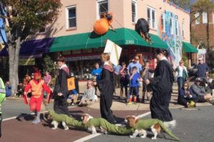 Del Rey holds its 21st annual Halloween Parade on Sunday. (Photo: C. Mouledoux/Visit Alexandria)