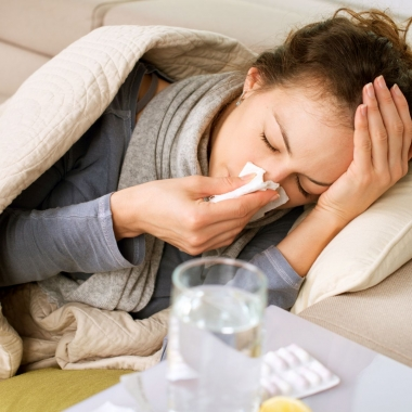The flu season in the DMV can begin as early as October and last though May. (Photo: Shutterstock)