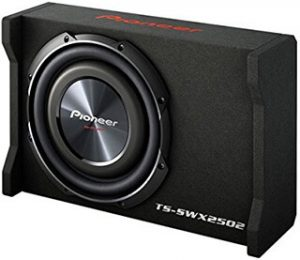 Pioneer TSSWX2502 10-Inch Shallow-Mount Pre-Loaded Enclosure Sub-Woofer (Photo: cloodjo.com)
