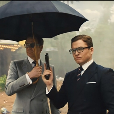 Kingsman: The Golden Circle eeked out first place last weekend with $16.94 million, barely beating It and American Made. (Photo: 20th Century Fox)