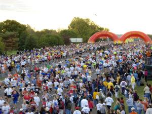The 42nd annual Marine Corps Marathon takes place Sunday. (Photo: Destination D.C.)