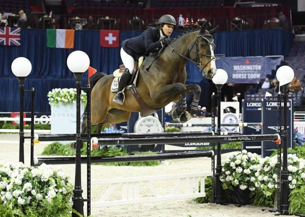 The Washington International Horse Show continues at the Capital One Arena through Sunday. (Photo: Shawn McMillen Photography)