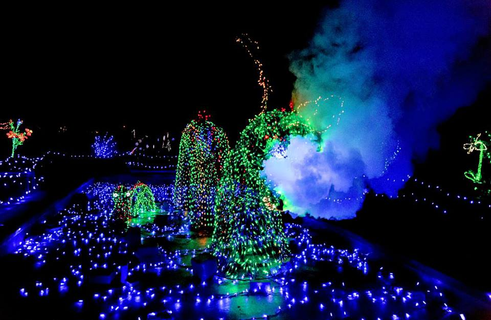 Garden of lights fills wheatons brookside gardens with more than 1 million lights photo