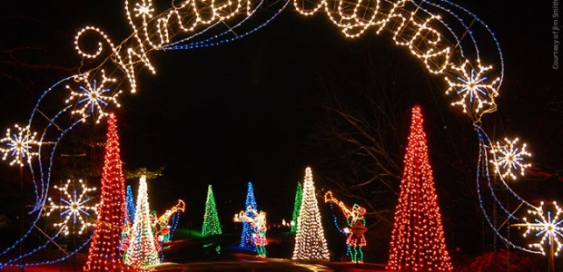 Winter Lights is a 3.5 mile drive through Seneca State Park in Gaithersburg. (Photo: Jim Smith/Cornerstone Images)