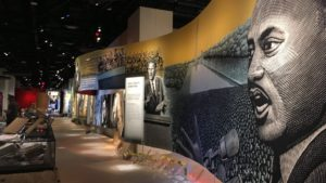 The Museum of the Bible opens Friday after three years and includes the Impact of the Bible exhibit featuring a section on the Bible;s role in the Civil Rights movement. (Photo: Mikaela Lafrak/WAMU)