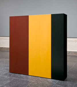 <em>Knight's Heritage</em> is one of artist Anne Truitt's pieces now on display at the National Gallery of Art. (Photo: National Gallery of Art)