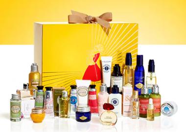 L'Occitane's Luxury Advent Calendar includes the best skin, body and bath products. (Photo: L'Occitane)