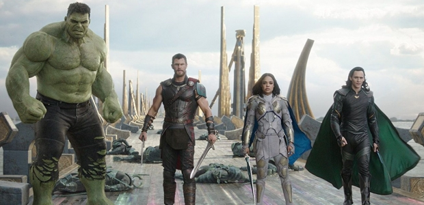 Thor: Ragnarok debuted in first place over the weekend with $122.74 million. (Photo: Disney Entertainment/Marvel)