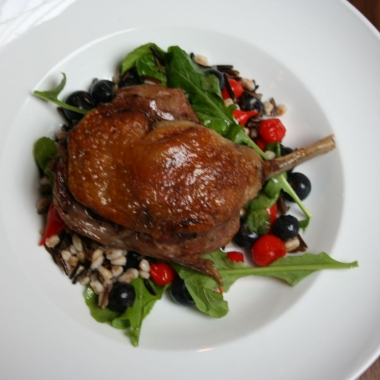 Duck confit (Photo: Mark Heckathorn/DC on Heels)