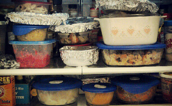 Refrigerate leftovers after two hours to prevent bacteria growth. (Photo: one woman's friend/Flickr)
