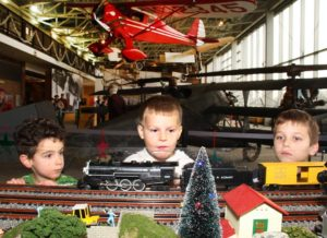 Holiday Trains & Planes are on display at the College Park Aviation Museum from Saturday through Dec. 23. (Photo: College Park Aviation Museum/Facebook)