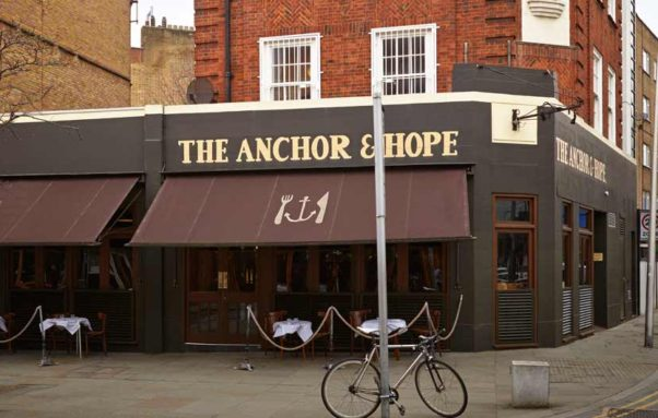 The Anchor & Hope in London. (Photo: The Anchor & Hope)