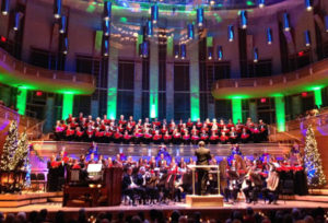 The Washington Chorus presents is annual Candlelight Christmas concert. (Photo: Strathmore)