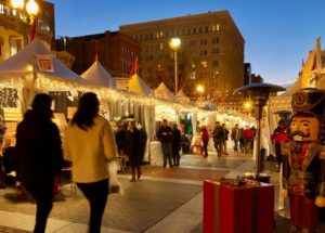 Penn Quarter's Downtown Holiday Market wraps up this Friday and Saturday. (Photo: Downtown Holiday Market/Facebook)