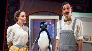 The family-friendly <em>Mr. Popper's Penguins</em> is at the Kennedy Center through New Year's Eve. (Photo: Kennedy Center)