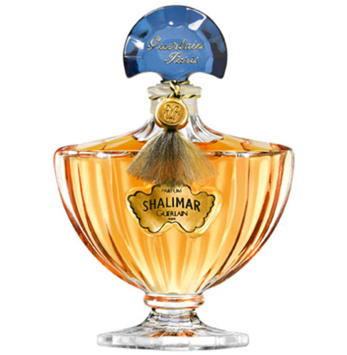 Shalimar not only smells elegant, but also looks it. The bottle can be saved as decor on her vanity. (Photo: Guerlain)