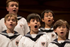 The Vienna Boys Choir comes to George Mason Univeristy's Center for the Arts at 2 pm on Sunday. (Photo: Vienna Boys Choir)