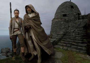 Star Wars: The Last Jedi led the Christmas weekend box office with $99.03 million. (Photo: Lucasfilms)
